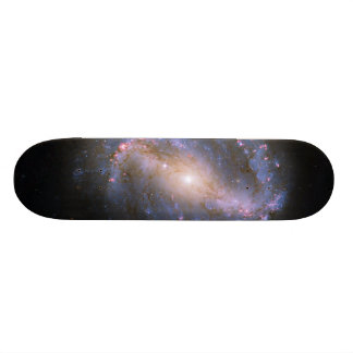 The Barred Spiral Galaxy NGC 6217 Skateboard Deck