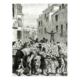 The Barricade Postcard
