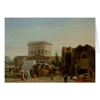 The Barrier at La Villette Greeting Card