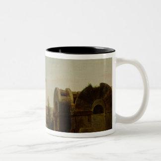 The Barrier at La Villette Two-Tone Coffee Mug