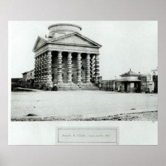 The Barriere de l'Etoile, Paris, 1858-78 Poster
