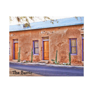 The Barrio Wrapped Canvas