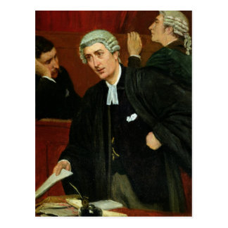 The Barrister Postcard