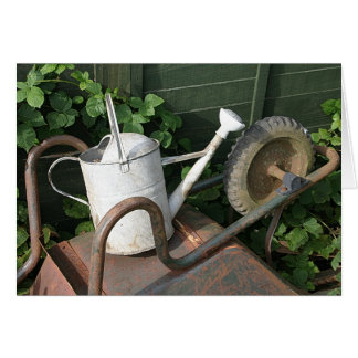 The Barrow, The Watering Can and The Bramble Card