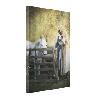 The Barter Canvas Print