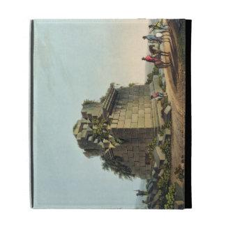 The Base of a Colossal Column near Syracuse, plate iPad Folio Cases