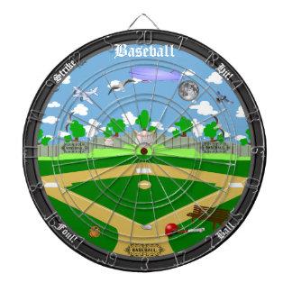 The Baseball Field Dartboard