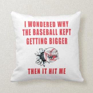 The Baseball Pillows