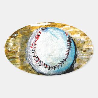The Baseball Sticker