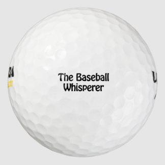 the baseball whisperer pack of golf balls