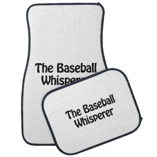 the baseball whisperer floor mat