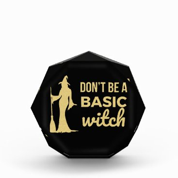 Halloween Themed The Basic Witch Award