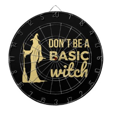 Halloween Themed The Basic Witch Dartboard