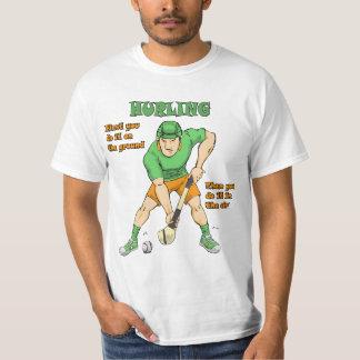 The Basics of Hurling T-shirt