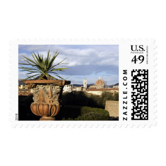 The Basilica and Campanile di Giotto seen from Stamp