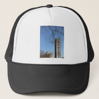 The Basilica of San Frediano and its bell tower Trucker Hat
