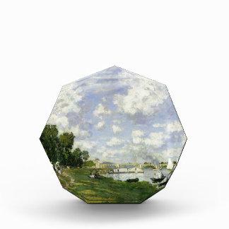 The Basin at Argenteuil - Claude Monet Acrylic Award