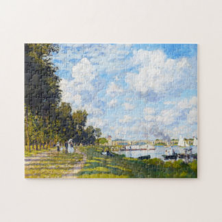 The Basin at Argenteuil Claude Monet Jigsaw Puzzle