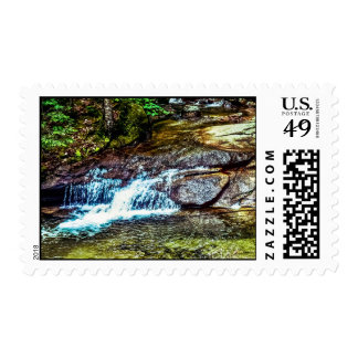 The Basin Franconia New Hampshire Stamp