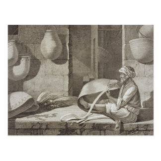 The Basket Maker, from Volume II Arts and Trades o Postcard