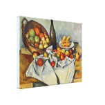 The Basket of Apples by Paul Cezanne Canvas Print