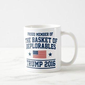 The Basket Of Deplorables Trump Coffee Mug