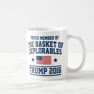The Basket Of Deplorables Trump Coffee Mug