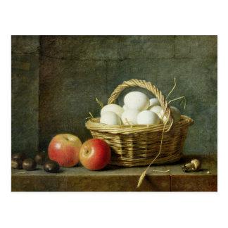 The Basket of Eggs, 1788 Postcard