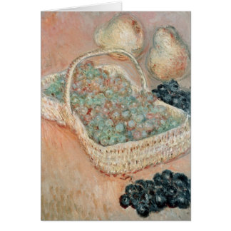 The Basket of Grapes, 1884 Card