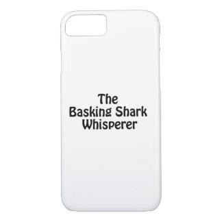 the basking shark whisperer iPhone 7 case