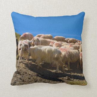 The Basque-Béarnaise or Basque Sheep Herd Throw Pillow