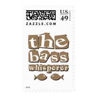 The Bass Whisperer Postage Stamp