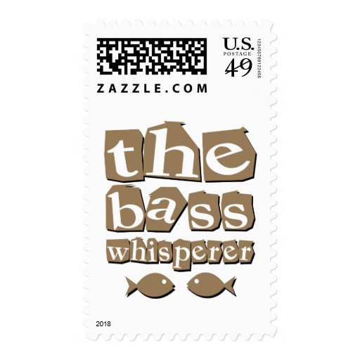 The Bass Whisperer Postage Stamps