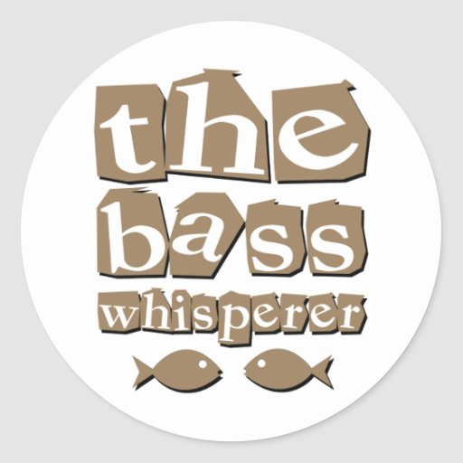 The Bass Whisperer Stickers
