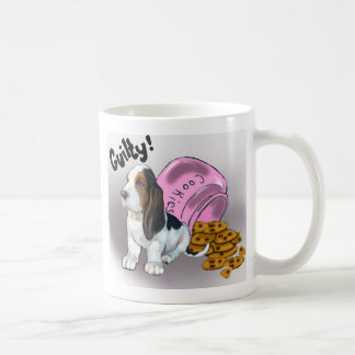 The Basset Hound Stole the cookies Coffee Mug