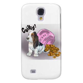 The Basset Hound Stole the cookies Samsung Galaxy S4 Case