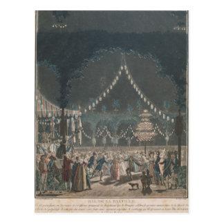 The Bastille Ball Postcard