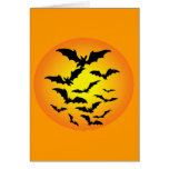 The bat of Halloween - Cards