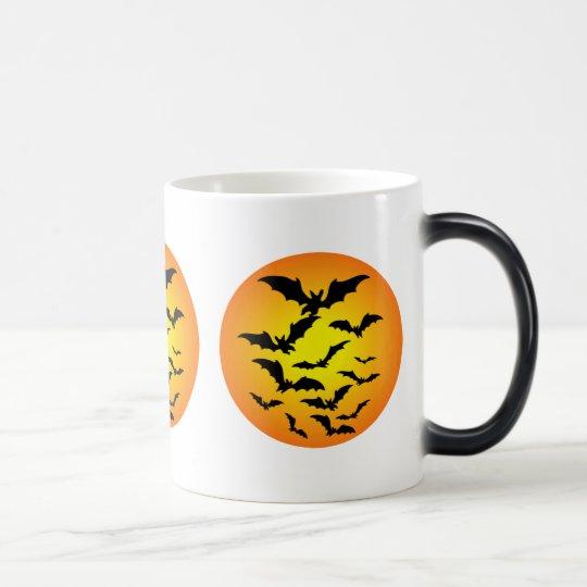 The bat of Halloween - Magic Mug