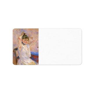 The Bath by Berthe Morisot Personalized Address Label