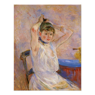 The Bath by Berthe Morisot Poster