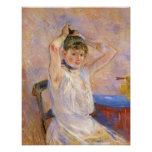 The Bath by Berthe Morisot Posters