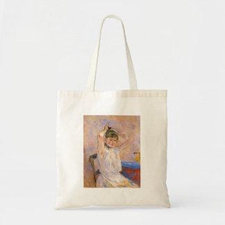 The Bath by Berthe Morisot Tote Bag