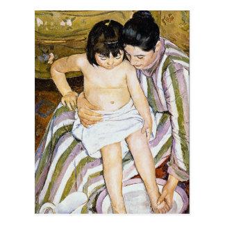 The Bath by Pierre Renoir Postcard
