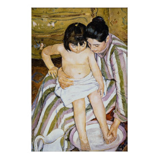 The Bath by Pierre Renoir Posters