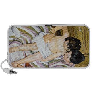 The Bath by Pierre Renoir Mini Speakers