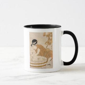 The Bath, Edo period Mug