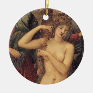 The Bath of Venus by Sir Edward Coley Burne Jones Ceramic Ornament