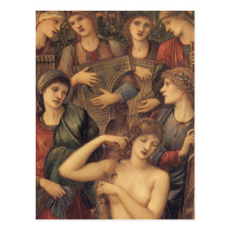 The Bath of Venus by Sir Edward Coley Burne Jones Postcard