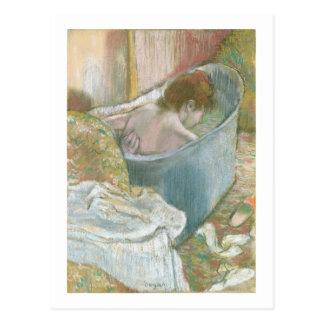 The Bath (pastel) Postcard